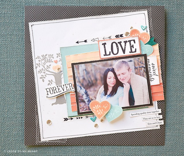 September 2014 Stamp of the Month Sample Layout