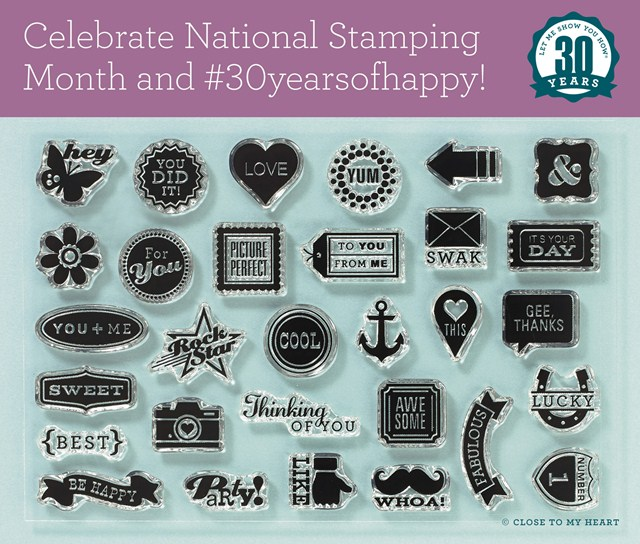 National Stamping Month and 30 Years of Happy Campaign