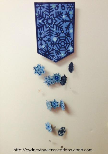 snowflake hanging pic