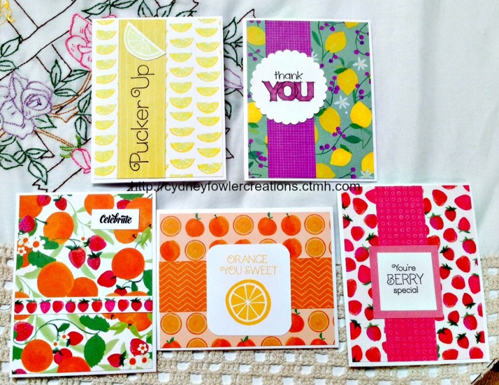 Taste of Summer Greeting Cards